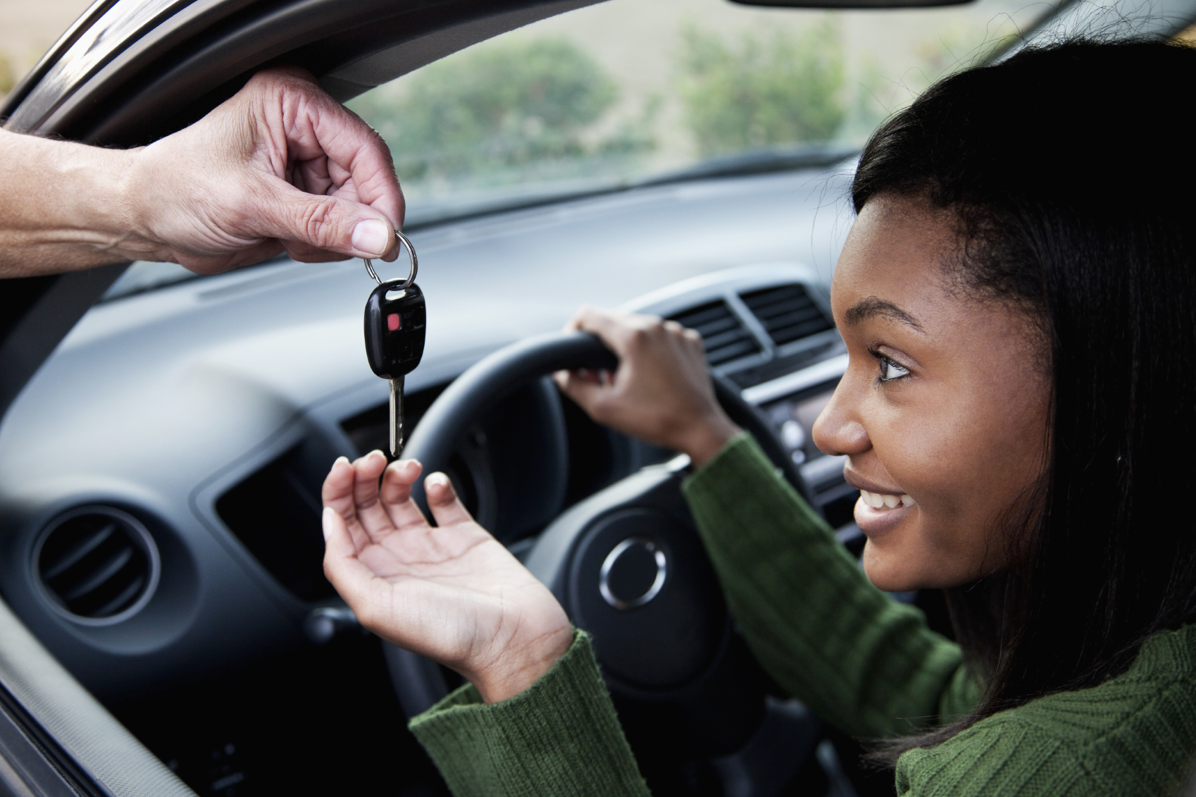 Teen driver driver education inquiry