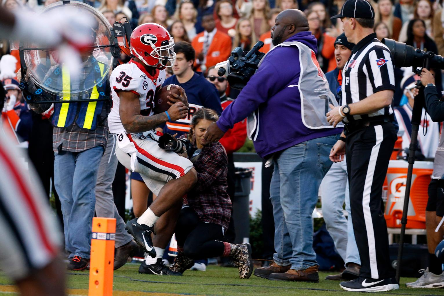 Photographer Hit In Georgia Auburn Game Out Of Hospital Sports News US News