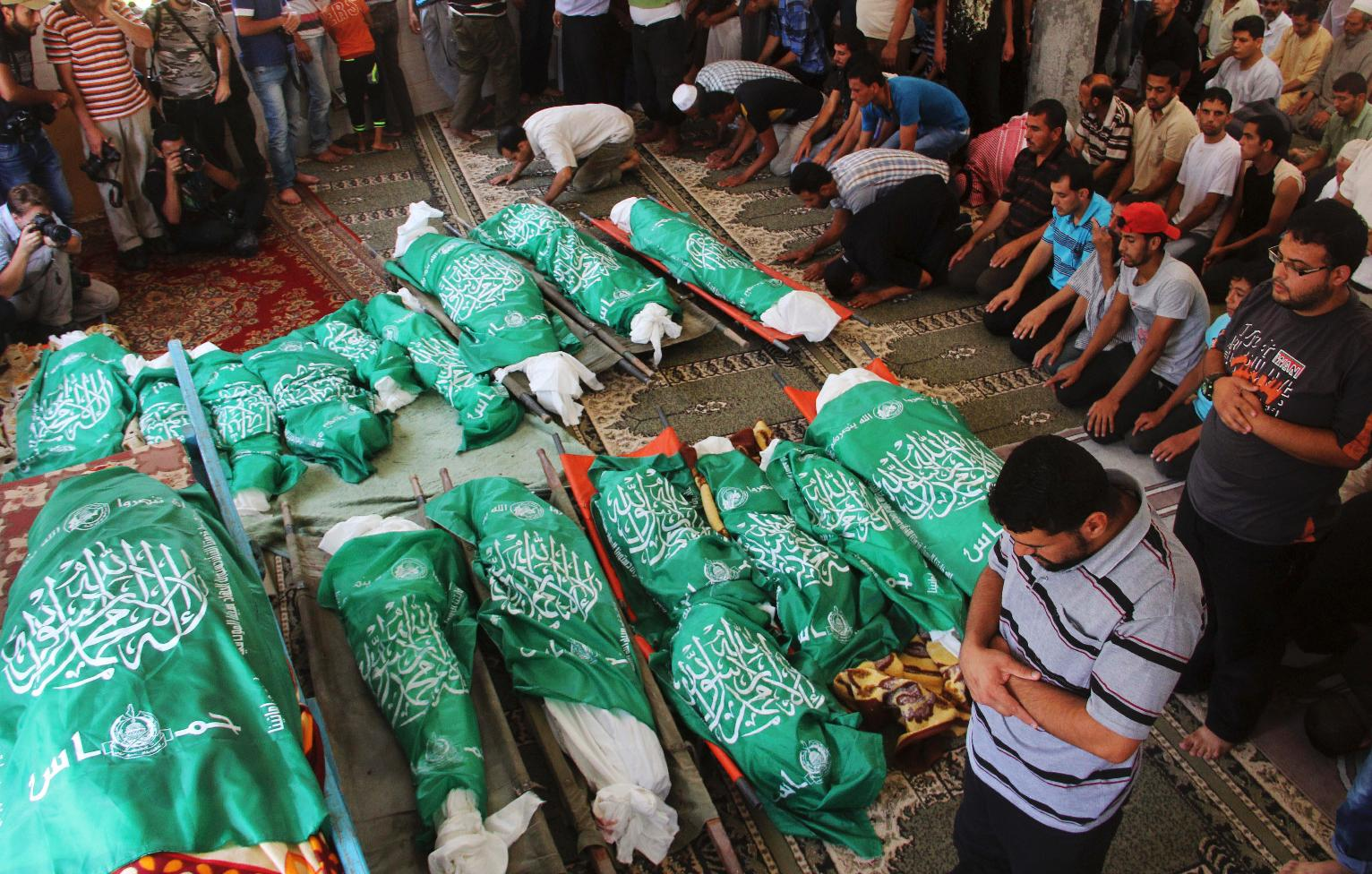 Hamas Lies About The Gaza Civilian Death Toll And The